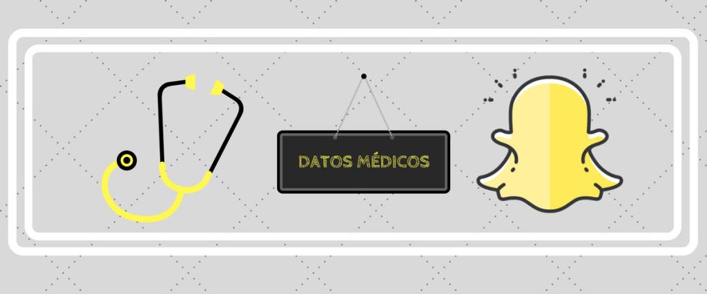 Snapchat y la protección de datos médicos